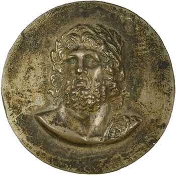 Hercule lauré, fonte, s.d