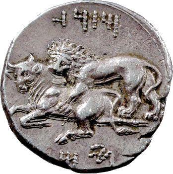 Cilicie, Mazaïos, statère, Tarse, 361-334 av. J.-C.