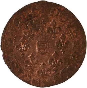Berri, Boisbelle et Henrichemont (principauté de), Maximilien III, double tournois 4e type, 16[42?] Henrichemont