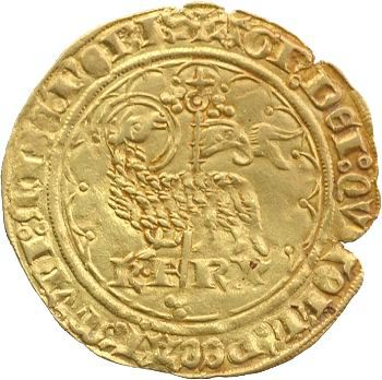 Charles VI, agnel d'or, 2e émission, Paris