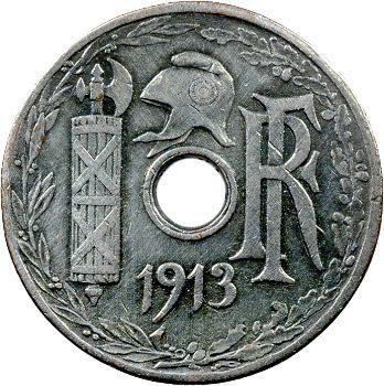 IIIe République, 2e essai de 25 centimes par Pillet, 1913 Paris