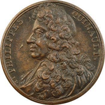 Philippe Quinault, médaille par J. Dassier