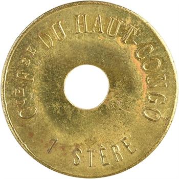 Congo, Compagnie Française du Haut-Congo, 1 stère de bois, s.d