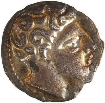 Marseille (imitation de), obole au type d'Apollon, tête à droite, c.IIe s. av. J.-C