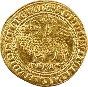 Philippe V, agnel d'or (croissant)