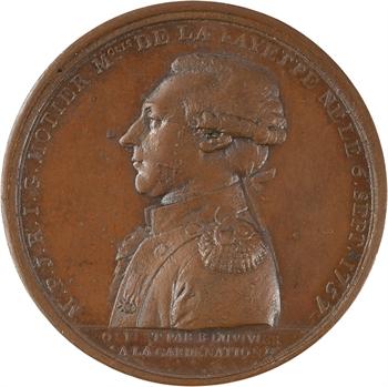 Constitution, La Fayette commandant général de la Garde nationale, par Duvivier, 1789 Paris