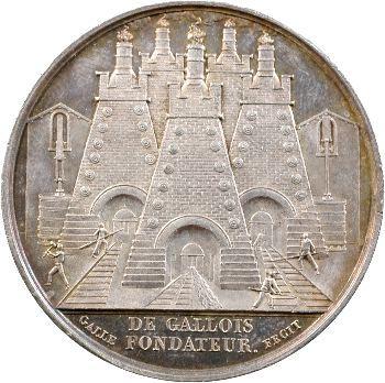 Louis XVIII, mines de Saint-Étienne, 1820