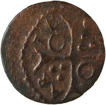 Catalogne, Louis XIII, denier, s.d. Cervera