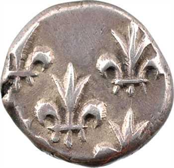 Indes françaises, Louis XV, double fanon, s.d. Pondichéry
