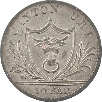 Suisse, Uri, 1 batzen (10 rappen), 1811