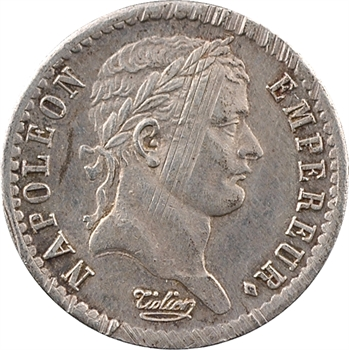 Premier Empire, demi-franc Empire, 1811 Paris