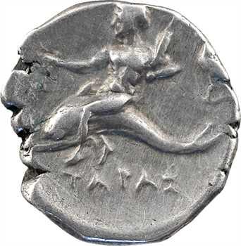 Calabre, Tarente, didrachme au nom de Philotas, c.272-235 av. J.-C.