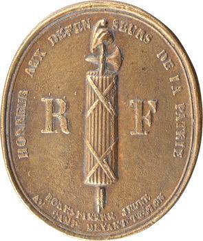 Convention, Robespierre jeune représentant du peuple, s.d. (1793) Paris