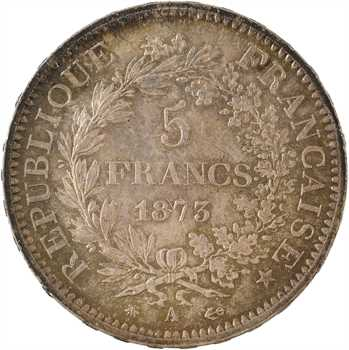 IIIe République, 5 francs Hercule, 1873 Paris