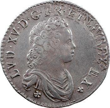 Louis XV, demi-écu dit Vertugadin, 1716 Paris