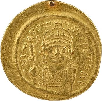 Justin II, solidus, Constantinople, 575-578