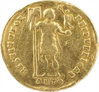Valentinien Ier, solidus, Antioche, 9e officine, 364-367