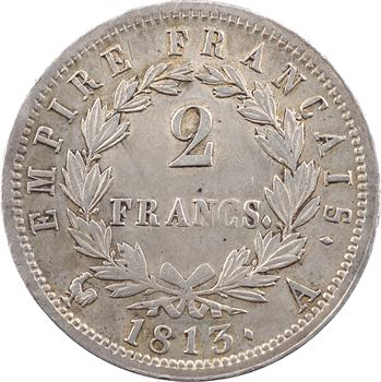 Premier Empire, 2 francs Empire, 1813 Paris