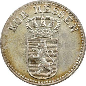 Allemagne, Hesse-Cassel, Guillaume II, 6 kreuzer, 1826