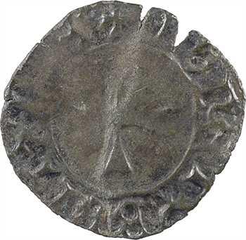 Bretagne (duché de), Jean V, denier à l'hermine, s.d. (c.1440-1442) Nantes