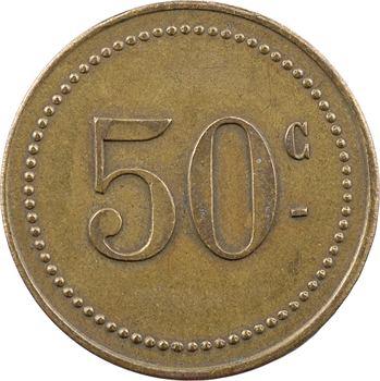 Madagascar, cercle français de Vatomandry, 50 centimes, s.d