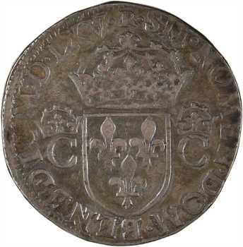 Charles IX, teston 2e type, 1565 Toulouse