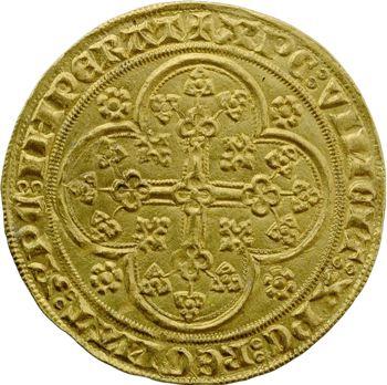 Flandre (comté de), Louis de Male, écu d'or à la chaise