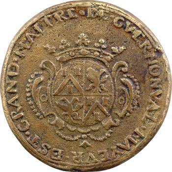 Saint-Omer : corporation des tanneurs, Grand-maître A.-J. Lequien de Guernonval, fonte, 1715