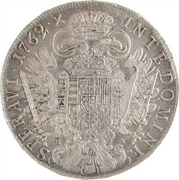 Autriche (archiduché), François Ier, thaler, 1762 Hall
