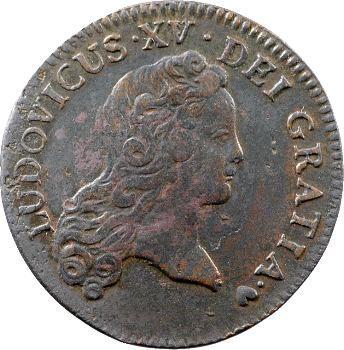 Louis XV, demi-sol au buste enfantin, 1720 Strasbourg