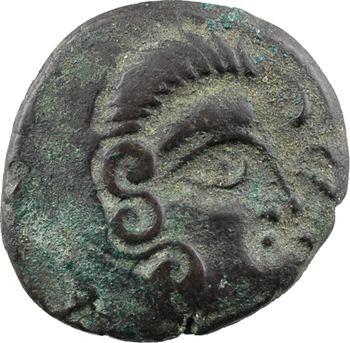 Coriosolites, statère de billon, classe II au nez pointé, c.80-50 av. J.-C.