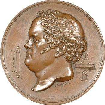 Barnabé Brisson, inspecteur des Ponts et Chaussées, par Domard, 1828 Paris