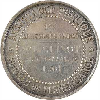 IIIe République, Bureau de bienfaisance de l'Assistance publique, 1901 Paris
