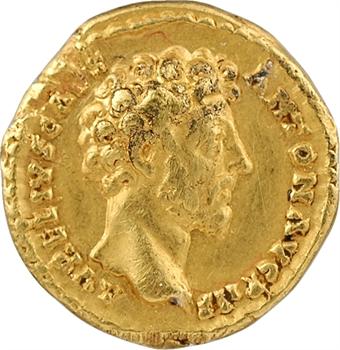 Marc Aurèle, aureus, Rome, 157-158