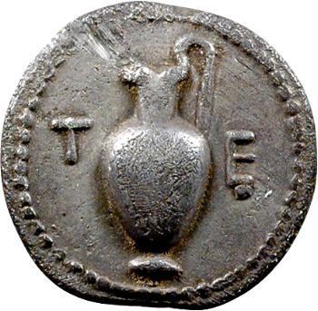 Macédoine, Térone, tétrobole, 424-422 av. J.-C.