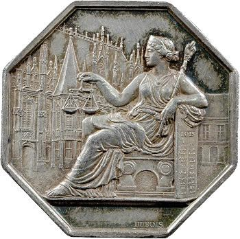 Rouen, Avoués près le Tribunal, 1841 (1845-1860)