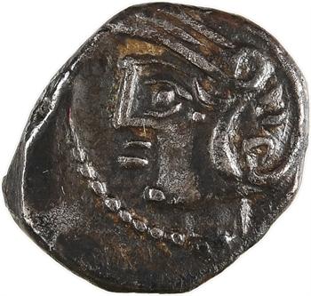 Lingons, denier KALETEDOY, type aux ancres, c.80-50 av. J.-C