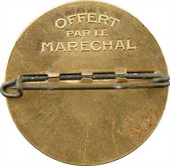 IIe Guerre Mondiale, le Maréchal Pétain, broche par F. Cogné, s.d. Paris
