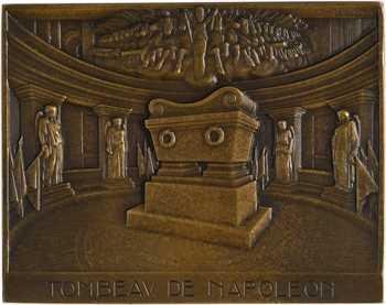 Delannoy (M.) : le tombeau de Napoléon aux Invalides, s.d