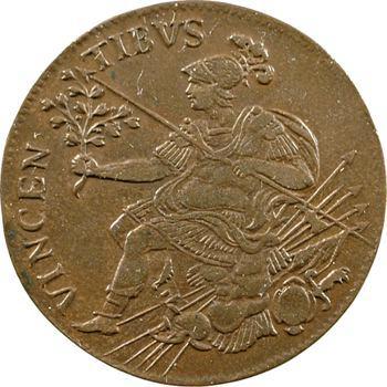 Louis XIV, au revers de Mars, s.d