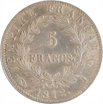 Premier Empire, 5 francs Empire, 1812 Limoges