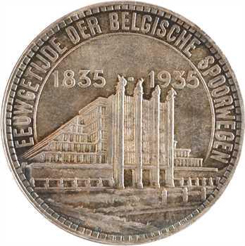 Belgique (royaume de), Léopold III, 50 francs Exposition universelle, 1935 Bruxelles