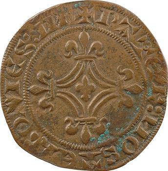 Moyen-Âge, jeton de compte pour les comtes de Flandre