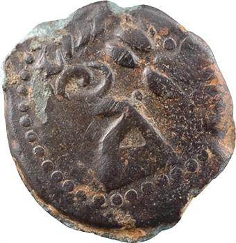 Sénons, bronze au cerf et à l'oiseau, avant 52 av. J.-C