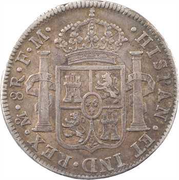 Mexique, Charles IV, 8 réaux, 1801 Mexico FM