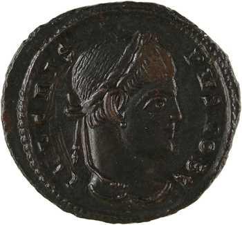 Crispus, nummus, Siscia, 320-321