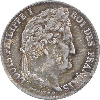 Louis-Philippe Ier, 1/4 franc, 1843 Lille