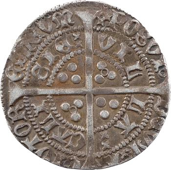 Picardie, Calais (territoire de), Henry VI, gros aux annelets, Calais