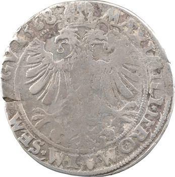 Cambrésis, Cambrai (archevêché de), Maximilien de Berghes, demi-thaler, 1568