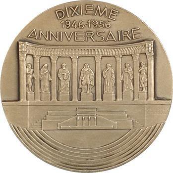 IVe République, 10e anniversaire du Conseil de la République par Muller et Crouzat, 1956 Paris